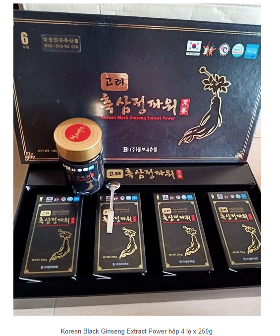 Cao hắc sâm Black Ginseng Extract Power